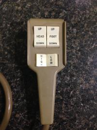 PICTURE OF OLD 110 VOLT HI/LOW HAND CONTROL. YOU MUST UPGRADE TO THE GENERIC 110 VOLT HAND CONTROL.