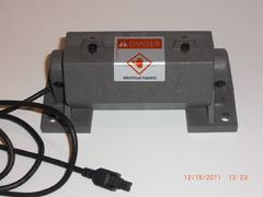 PICTURE OF 24 VOLT D/C MASSAGE MOTOR, OLDER STYLE.